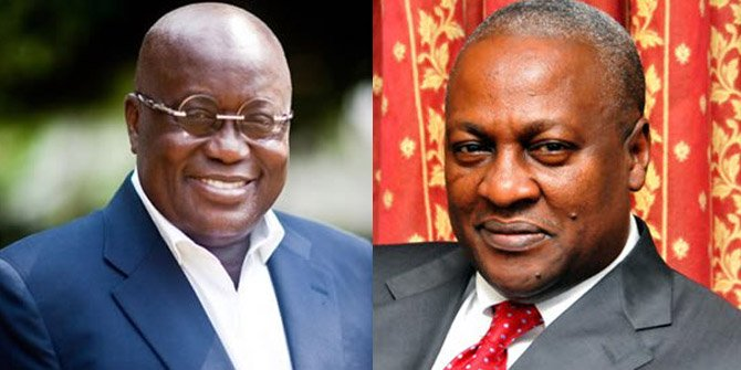 "Akufo-Addo's victory and ""Esther"" John Mahama's 2016"