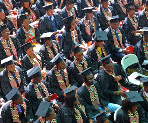 Photo: Graduation at Ashesi University, which is accredited and is one of the best tertiary institutions in Ghana.