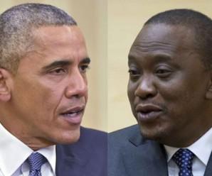 Presidents Barack Obama and Uhuru Kenyata