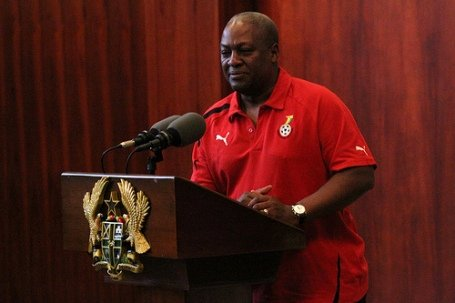 President Mahama ordered that each of the players should be paid $5000