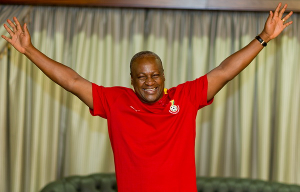 President Mahama is hoping to be re-elected for a second term mandate in 2016