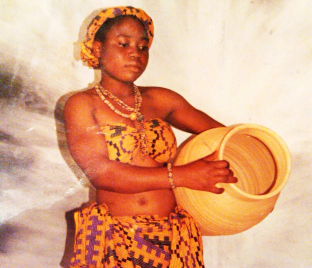Elorm's grandfather took care of her education