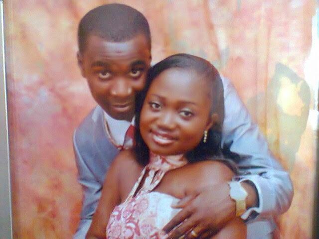 When times were good: Mr. and Mrs. Dankwa