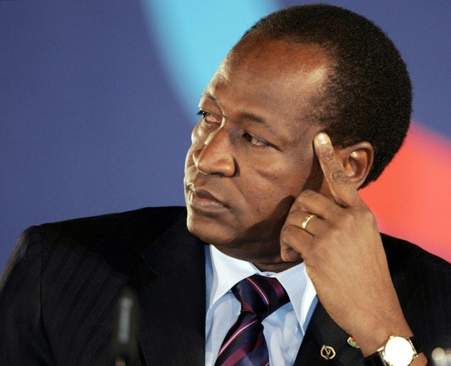 Former President of Burkina Faso, Blaise Campaore