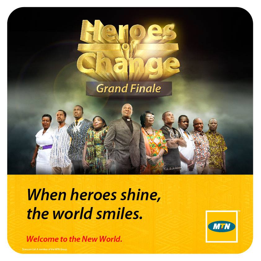 The heroes of change finalists