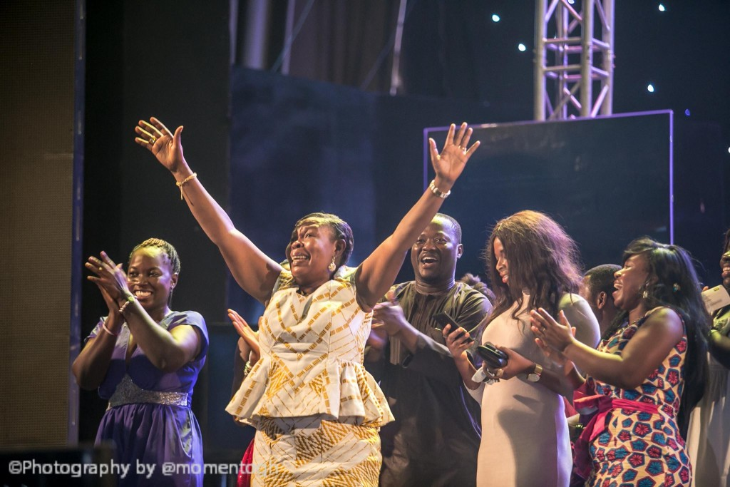 Madam Paulina Opei thanks God for emerging ultimate winner