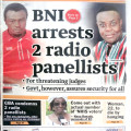 The BNI said the the panelists have no capacity to carry out their threats on the lives of the judges
