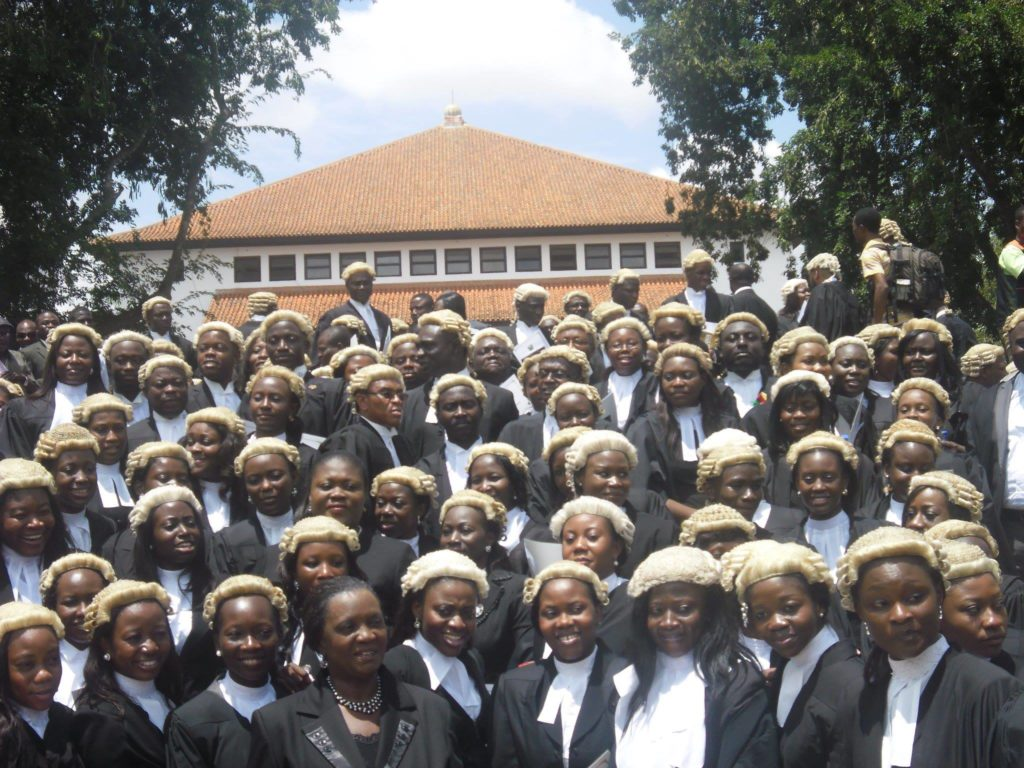 New lawyers called to the bar