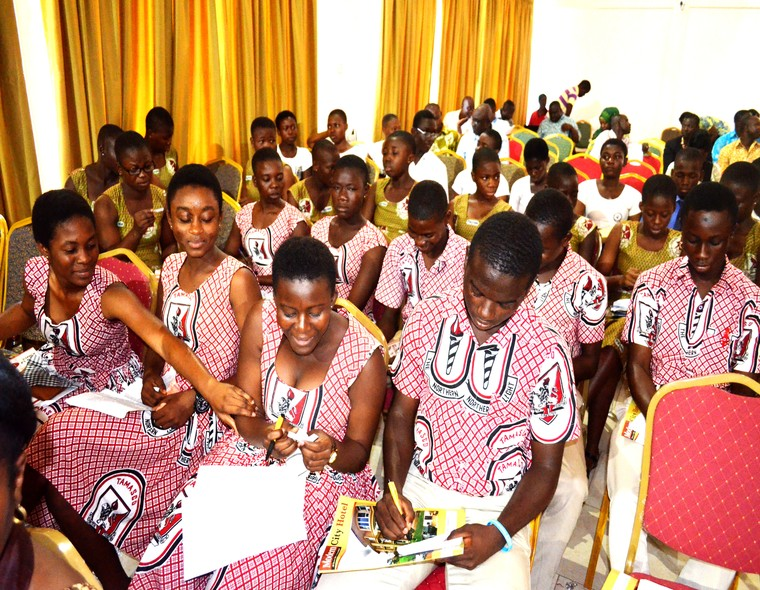 Students of Tamale Senior High School