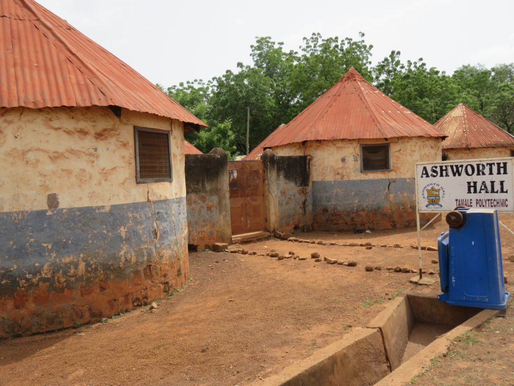 Ashworth Hall of the Tamale Polyclinic, which was recently made a Technical University