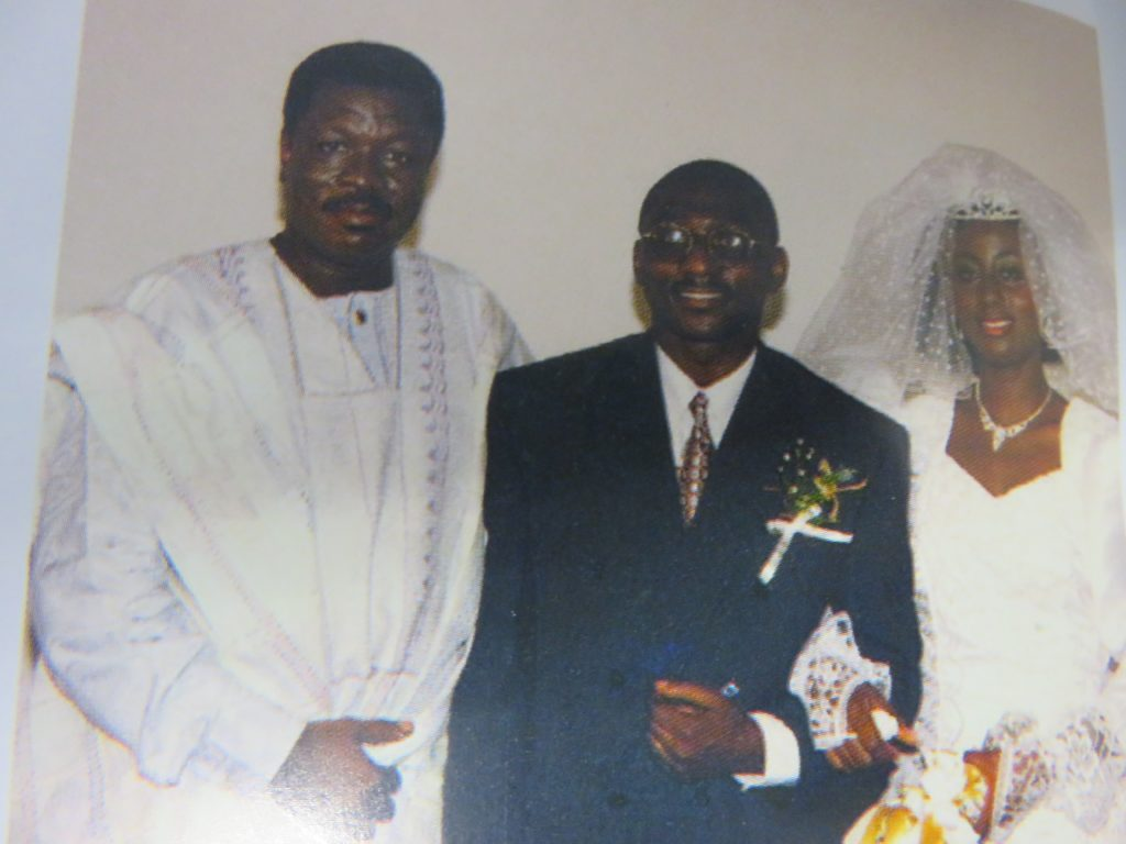 Auntie Judith said Pastor Mensa Otabil officiated her wedding 19 years ago