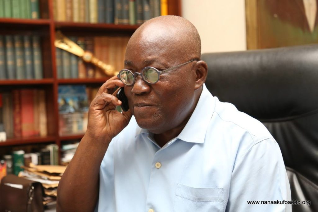 Nana Addo Dankwa Akufo-Addo, President-elect of the Republic of Ghana