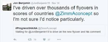 People like Jon Benjamin give us the idea of what the international community thinks about us