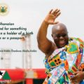 Nana Addo Dankwa Akufo-Addo was sworn in as President of the Republic of Ghana today.