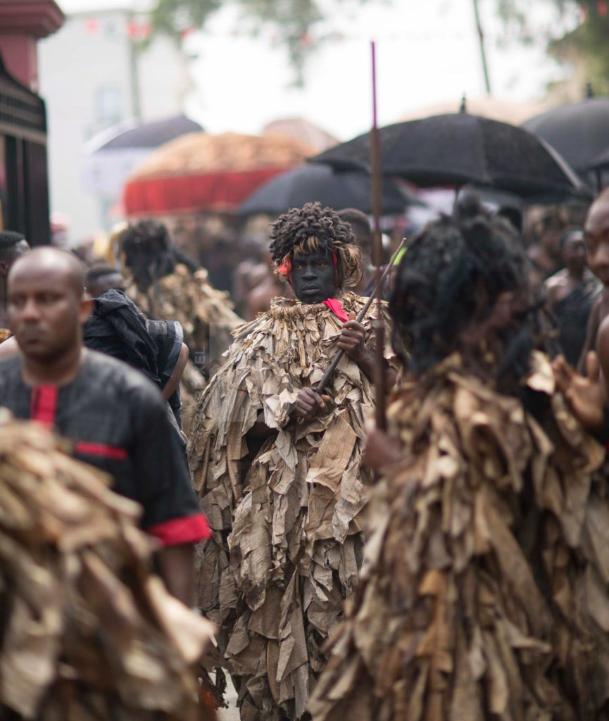 Scenes and sights from the Asantehemaa's funeral