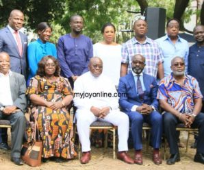President-elect Nana Addo Dankwa Akufo-Addo with his appointees