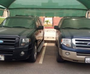 The Ford Expedition given to President John Mahama by the Burkinabe Contractor